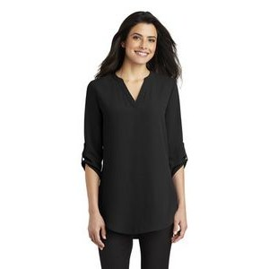 Ladies Port Authority® ¾-Sleeve Tunic Blouse