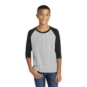 Youth Gildan® Heavy Cotton 3/4 Sleeve Shirt