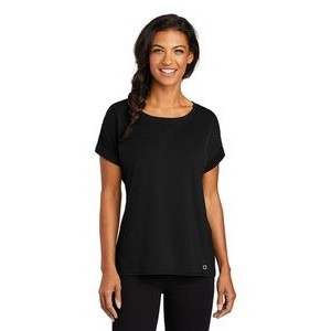 OGIO® Ladies Luuma Cuffed Short Sleeve Shirt