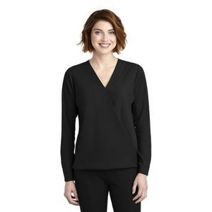 Ladies Port Authority® Wrap Blouse