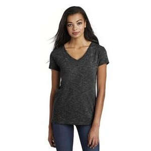 District ® Women's Medal V-Neck Tee
