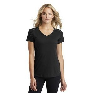 OGIO® ENDURANCE Ladies Peak V-Neck Tee