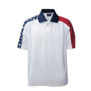 Redwear Brandon Men's Patriotic Polo Shirt