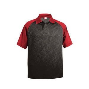 Redwear Robert Men's Raglan Polo 2 Tone Shirt
